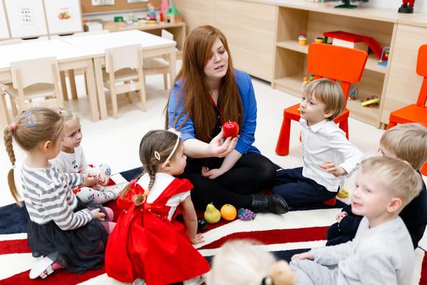 Обучение в Британском детском саду