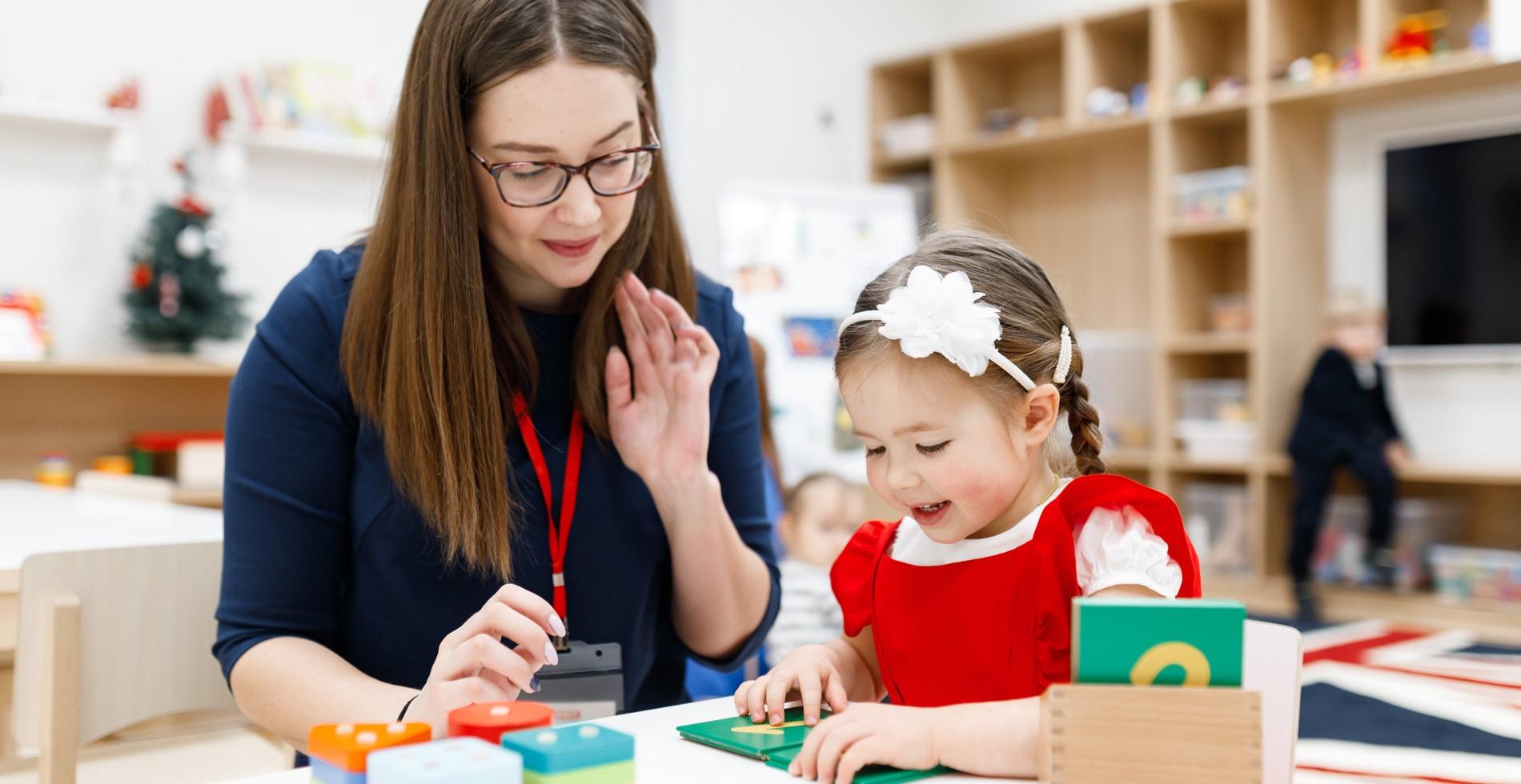 Высококвалифицированные преподаватели детского сада