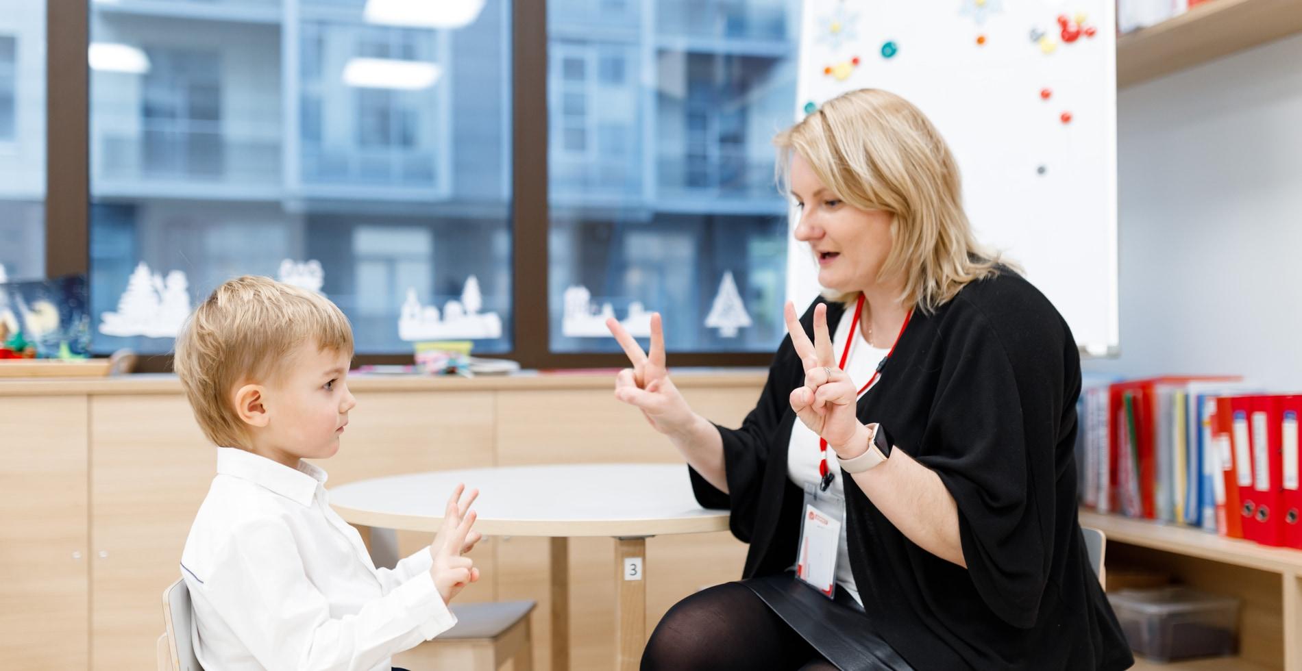 Иностранные педагоги в детском саду