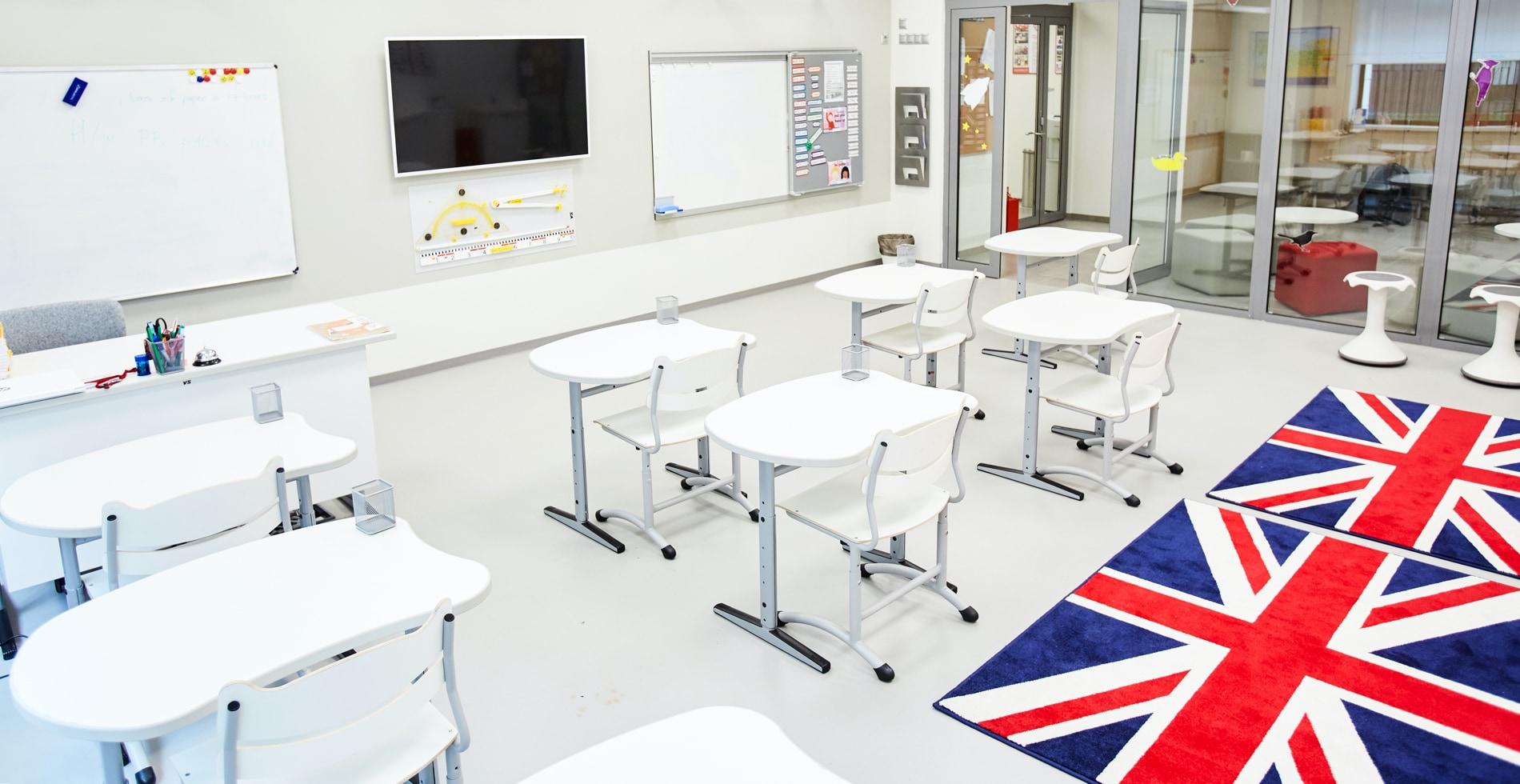 Школьный класс в Английской частной школе ILA Aspect