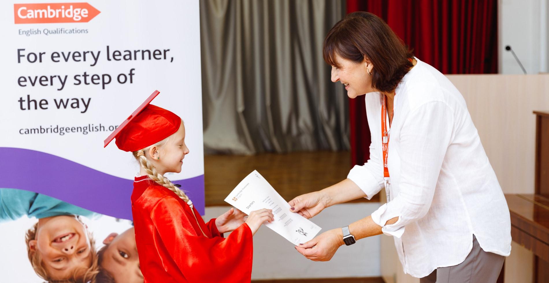 Выдача международных Кембрижских сертификатов в  ILA Aspect